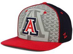 Arizona Wildcats Top of the World NCAA Reflector Snapback Cap Hats