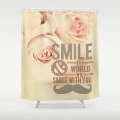 Smilie by healinglove Shower Curtain by Healinglove art products - $68.00