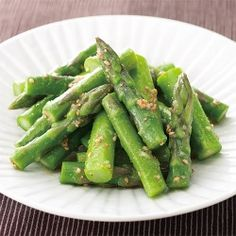 Japanese Food, Food Styling, Asparagus, Green Beans, Naver, Vegetables, Recipes, Studs, Recipies