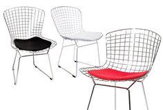 Silla Wire. Artesanía y diseño se funden para crear una silla de acero de alta calidad Deskontalia Productos - Descuentos del 70%
