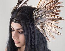 Éther une coiffe de plumes Tribal dessiné par Eminence repêché
