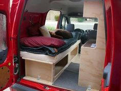 2002-2013 Ford Transit Connect Camper Conversion Kit. Do ...