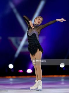 Gracie Gold performs during the P&G Wal-Mart 'Tribute to American Legends of the Ice' at Izod Center on December 11, 2013 in East Rutherford, New Jersey.