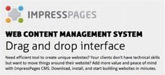 In case you are looking for an amazing and easy to use CMS, ImpressPages will woo you definitely! ImpressPages is a relatively young and less popular content management system.