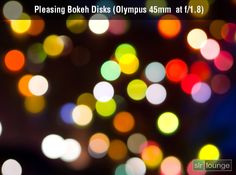Bokeh + Lights. This