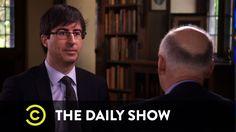 The Daily Show - John Oliver's Australia & Gun Control's Aftermath - Part 3 .. hiliarous