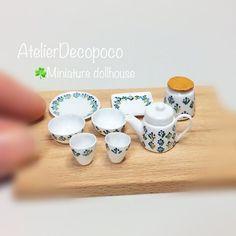 2017.07. Miniature Kitchen ♡ ♡  By Decopoco