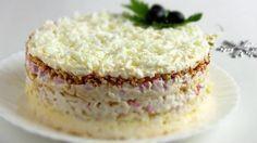 Изумительно вкусный и нежный салат «Снежная Королева»