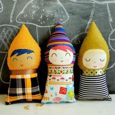 Handmade baby gnome dolls!