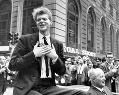 (NYT52) NEW YORK -- March 5, 2008 -- VAN-CLIBURN-ADV09-2 -- Pianist Van Cliburn during a ticker-tape parade in New York after returning from Moscow after winning the Tchaikovsky Piano Competition in Moscow in 1958. (Neal Boenzi/The New York Times) (retouched by Star-Telegram)   ORG XMIT: NYT52–NYT