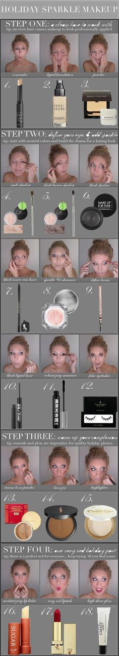 Makeup How To, or you could just try some of the steps