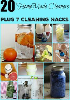 Homemade Cleaners you can make at home with natural ingredients that are organic and family friendly for your children and pets. Save money too.