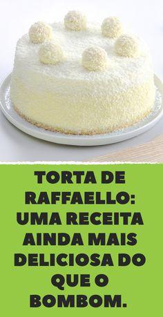 Raffaello Cake — a coconut cake recipe that's as tasty as the candy Mini Desserts, Rafaello Dessert, Rafaelo Cake, Raffaello Cake Recipe, Cupcake Cakes, Cupcakes, Cake Roll Recipes, Decadent Cakes, Drip Cakes