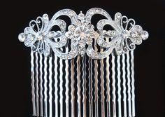 Art Deco Hair CombArt Deco Hair AccessoriesVintage by bridalwear