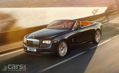 The Rolls Royce Dawn - the convertible Wraith - has been revealed as a luxury four-seat coupe convertible, dubbed the sexiest Rolls Royce ever built.