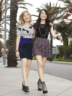 Photo of Carly & Sam for fans of iCarly 30952404 Miranda Cosgrove Icarly, Jennette Mccurdy, Icarly Cast, Icarly And Victorious, Famous Duos, The Thundermans, Bff, Nickelodeon Girls, Kira Kosarin