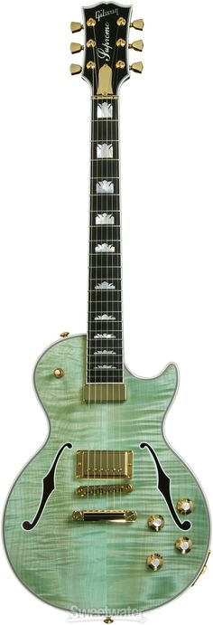 Gibson Les Paul Supreme - Seafoam Green | Sweetwater.com