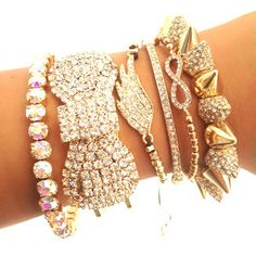 The Dollface Arm Candy Set by shopjailbird.com for $75.00