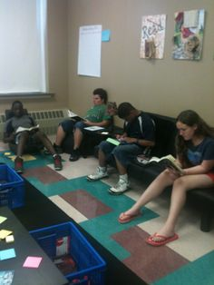 Creating life-long readers!! They even want to go to the library after class.