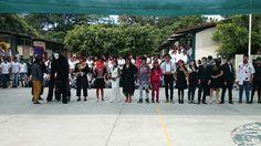 Estudiantes del #P10SantaRosa30 del #Cobaem_Morelos realizaron su concurso de disfraces con una gran participación de compañeros.  #juventudcultayproductiva