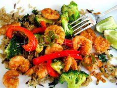 spicey lime shrimp