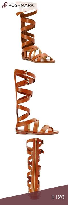 Brand New MK Gladiator Sandals This is the Darby style sandals by MK.  This color is sold out mostly everywhere.  Size 8.  Fits true to size.  A great pair of sandals to accessorize any Spring/Summer outfit. MICHAEL Michael Kors Shoes Sandals