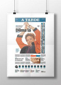 Dilma lá!. Prêmio de Excelência no SND 32! (2011)Trabalho realizado em julho de 2010, pelo Jornal A TARDE, de Salvador.