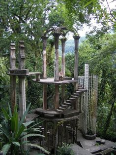Las Pozas, garden of Edward James - xilitla, San Luis Potosí - Would like to . - Las Pozas, garden of Edward James – xilitla, San Luis Potosí – Would like to visit xilitla aga - Beautiful Architecture, Beautiful Landscapes, Places To Travel, Places To Go, Nature Aesthetic, Travel Aesthetic, Fantasy Landscape, Abandoned Places, Abandoned Houses