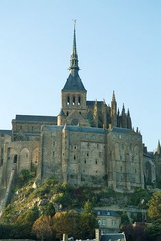 DescriptionWelcome to my wonderful castle. Vacation Places, Places To Travel, Places To See, Vacations, Chateau Medieval, Medieval Town, Saint Michael, Paris Travel, France Travel