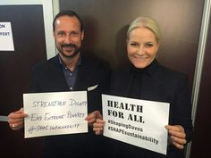 Prince Haakon and Princess Mette Marit were also in Davos, where they participated in the World Economic Forum.