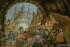 Anton Pieck 1899 from my personal collection by ~HolografDracula on deviantART