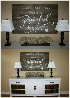 DIY Home Decor. Try These Useful Ideas For Home Improvement. The character of a person shows in their home. Attention to detail does not leave any room for error. Pallet Projects, Home Projects, Diy Pallet, Pallet Signs, Pallet Art, Passion Deco, Diy Home Decor, Room Decor, Style Deco