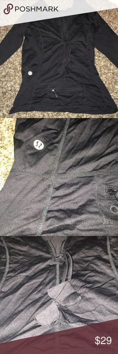 Work out jacket Wore a few times, great condition. Bought it in California lululemon athletica Sweaters V-Necks