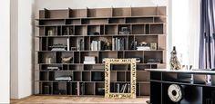 Cattelan – купить мебель итальянской фабрики Cattelan из Италии по низким ценам в PALISSANDRE.ru Shelves, Wall, Bookcases, Furniture, Home Decor, Italia, Homes, Living Room, Colors