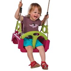 KBT Baby seat - 'trix' - m - purple - BiemBie Toys Baby Swing Seat, Baby Swings, Baby Car Seats, Urban Outfiters Bedroom, Swinging Chair, Purple, Toys, Children, Design