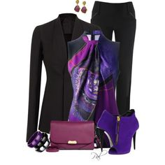 Purple haze, created by pamlcs on Polyvore