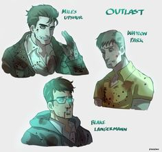 Outlast protagonists.