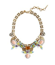 flora-statement-necklace Loren Hope Spring 2017