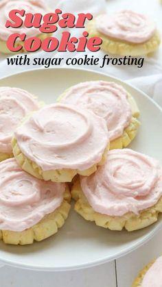 Crinkle Cookies, Swig Cookies, Best Sugar Cookies, Sugar Cookies Recipe, Yummy Cookies, Yummy Treats, Sweet Treats, Cookie Desserts, Just Desserts