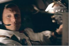 Just an hour into the Apollo 11 mission.
