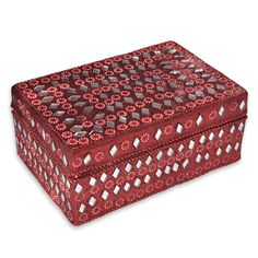 jewelry box, red jewelry box