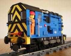 BR Class 08 Shunter | by bricktrix
