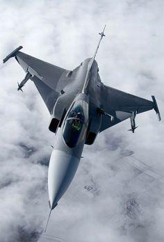 Gripen - Futuro caça da Força Aérea Brasileira.