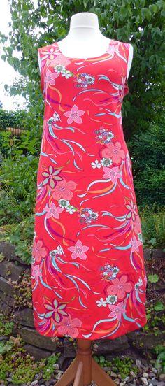 CLP eigenART: Tutorial - halbgefüttertes ärmelloses Kleid