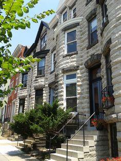 Row Houses; Baltimore, Maryland