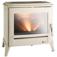 Invicta-Modena-wood-stove Ivory enamel
