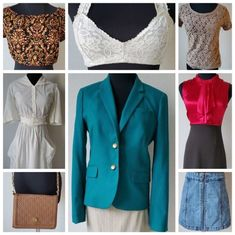 Online Estate Sales, Blazer, Jackets, Clothes, Dresses, Design, Fashion, Down Jackets, Outfits