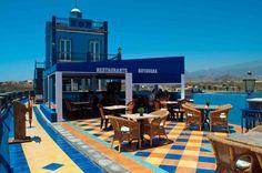 Restaurante Botavara is placed in our panoramic view terrace. Amazing! El restaurante Botavara está situado en nuestra terraza panorámica. ¡Espectacular!