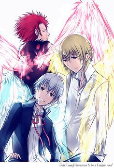 K project - Red king Mikoto Suoh - Silver king Yashiro Isana -