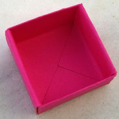 Learn How to Make a Cute Gift Box From a Single Sheet of Paper